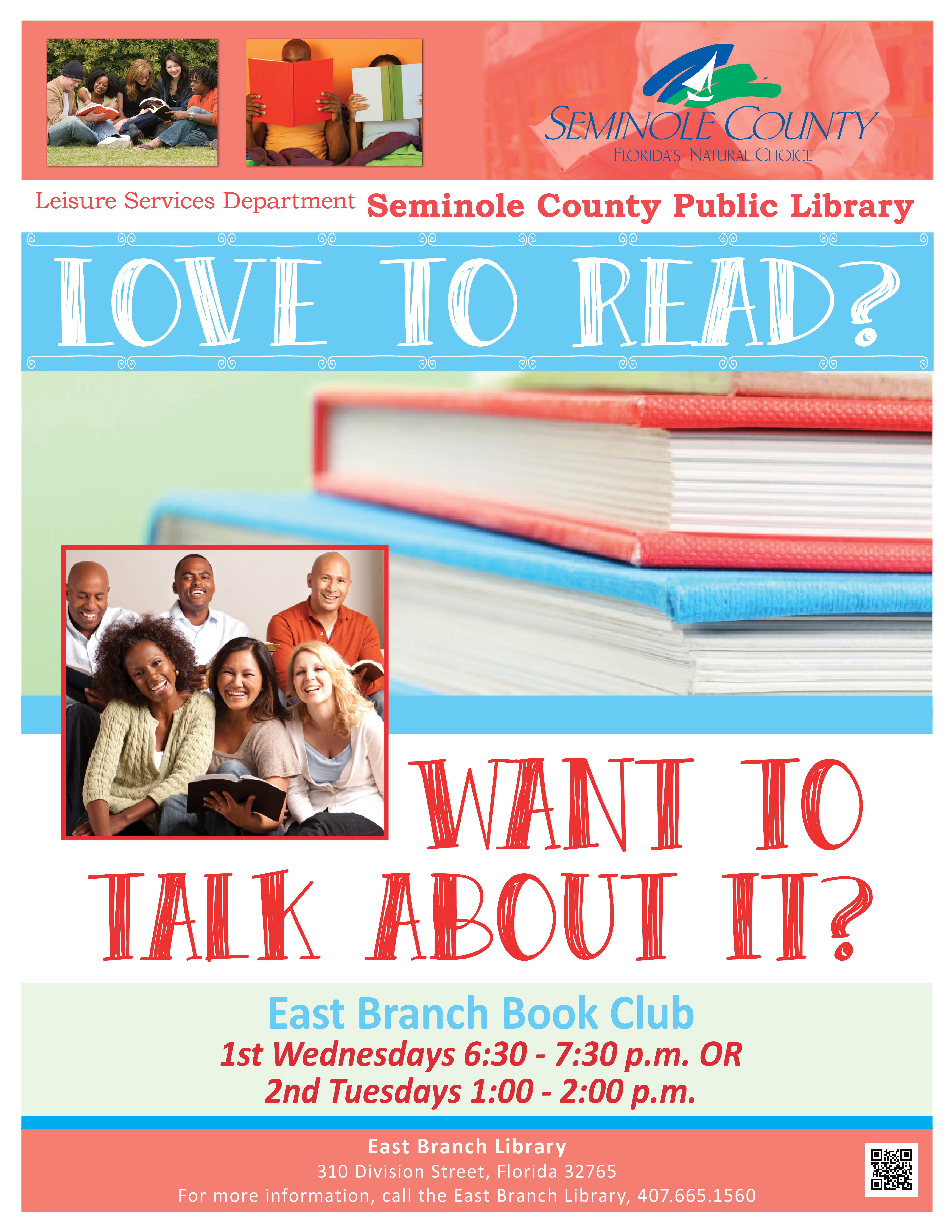 Book Club @ East Branch Library (Oviedo)