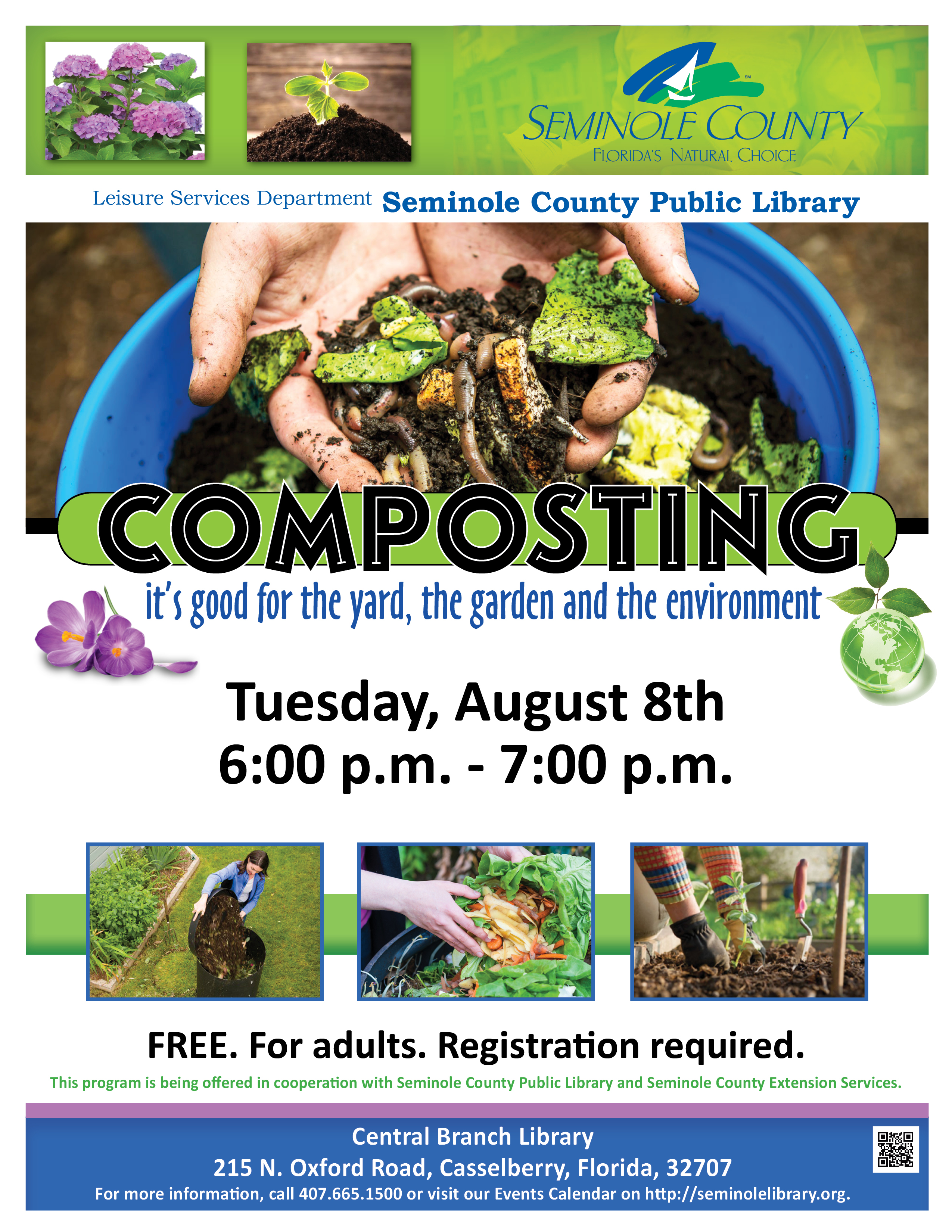 Get the Most with Compost @ Central Branch Library (Casselberry)