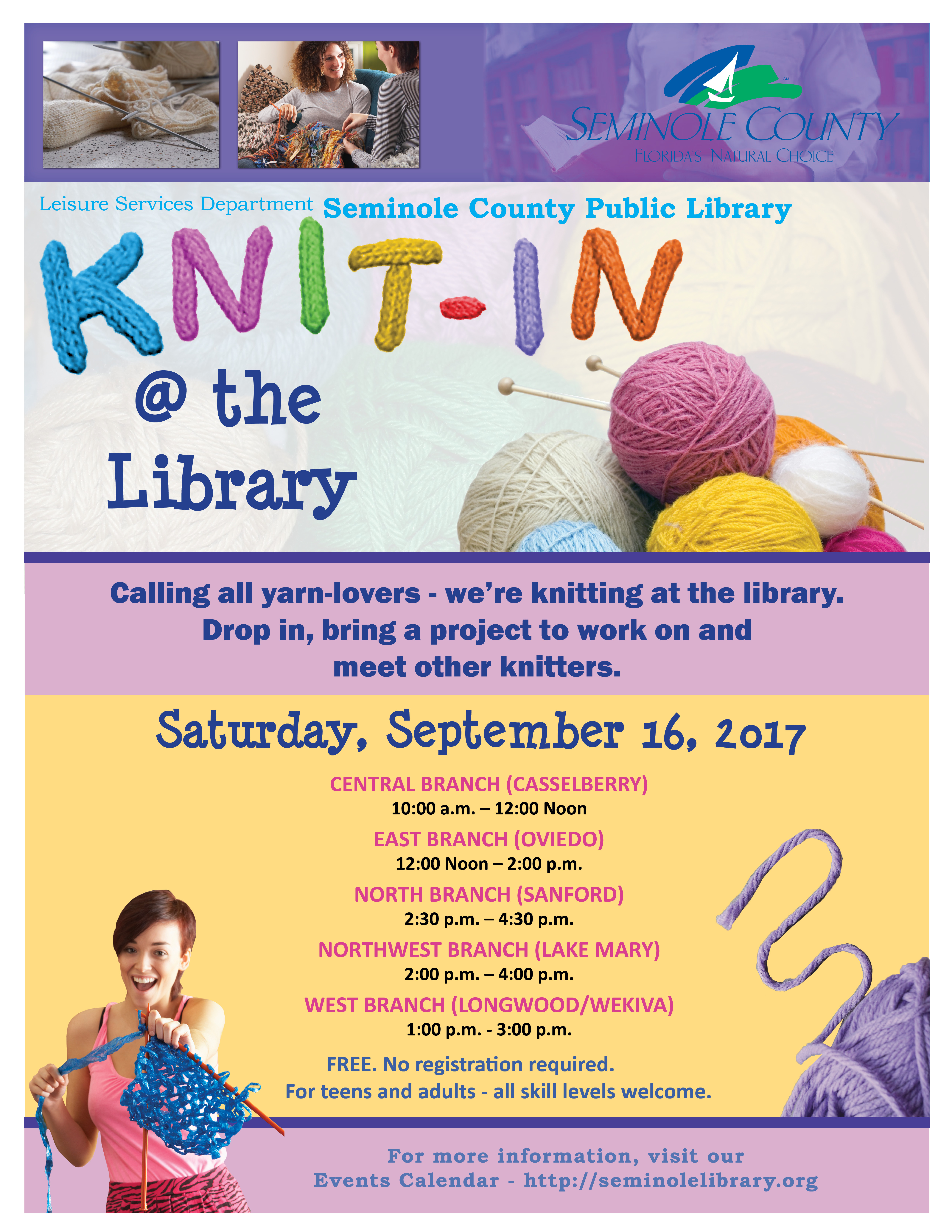 Knit-In @ the Library
