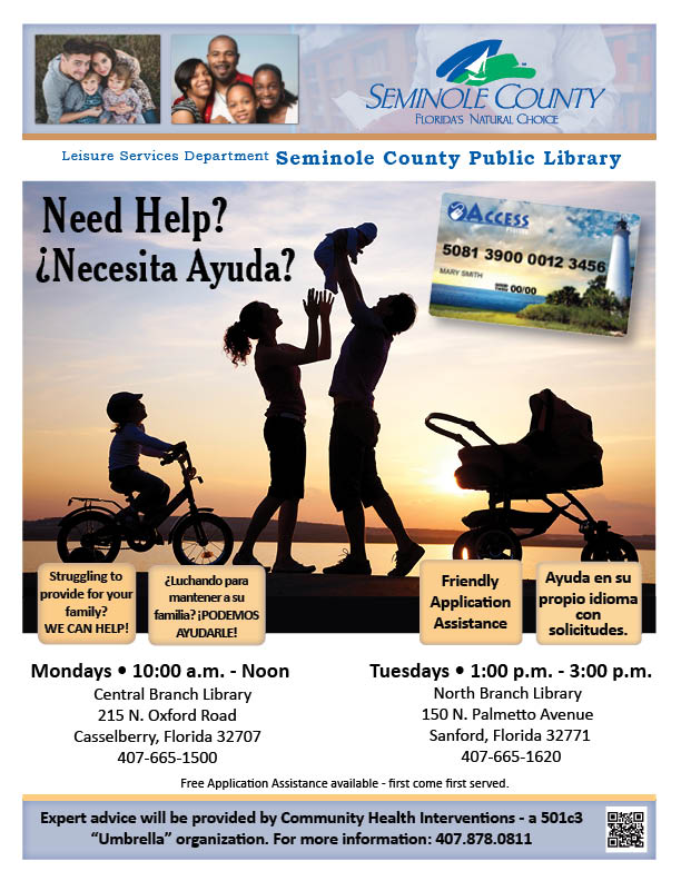 Need Help? @ Central Branch Library (Casselberry)