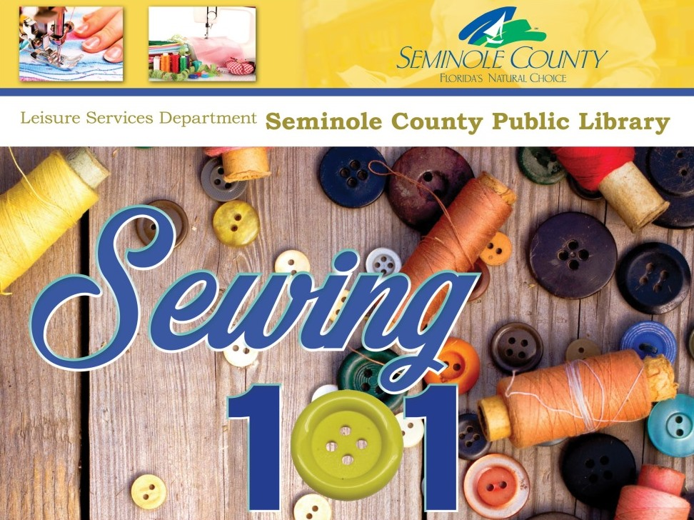 Sewing 101 @ Central Branch Library (Casselberry)