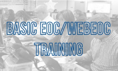 BASIC EOC / WEBEOC TRAINING