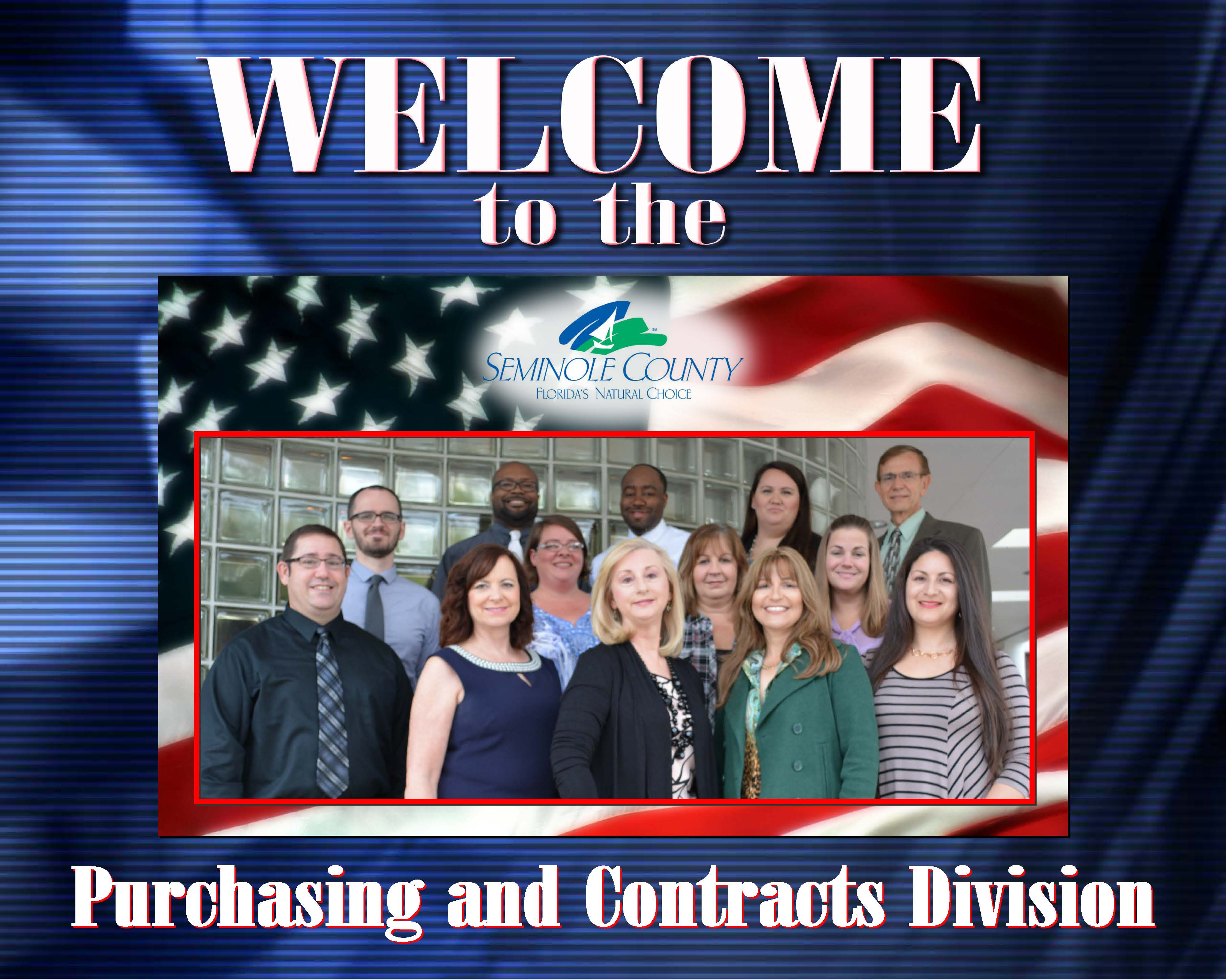 Welcome to Purchasing Division
