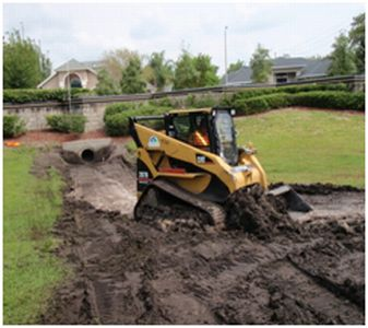 Huntridge Pond Excavation