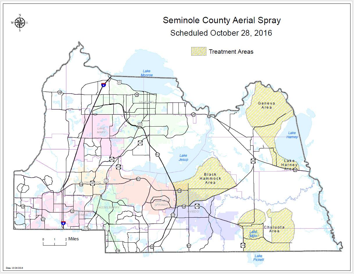 Aerial Rural Adulticiding Seminole County