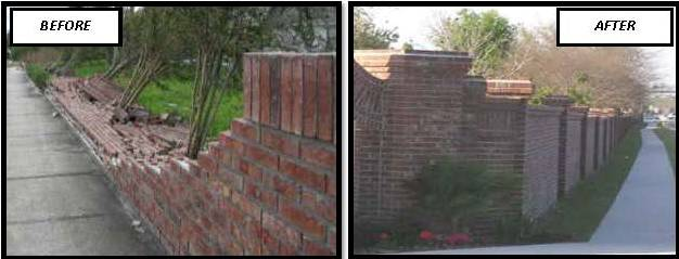 Wall Before & After pics