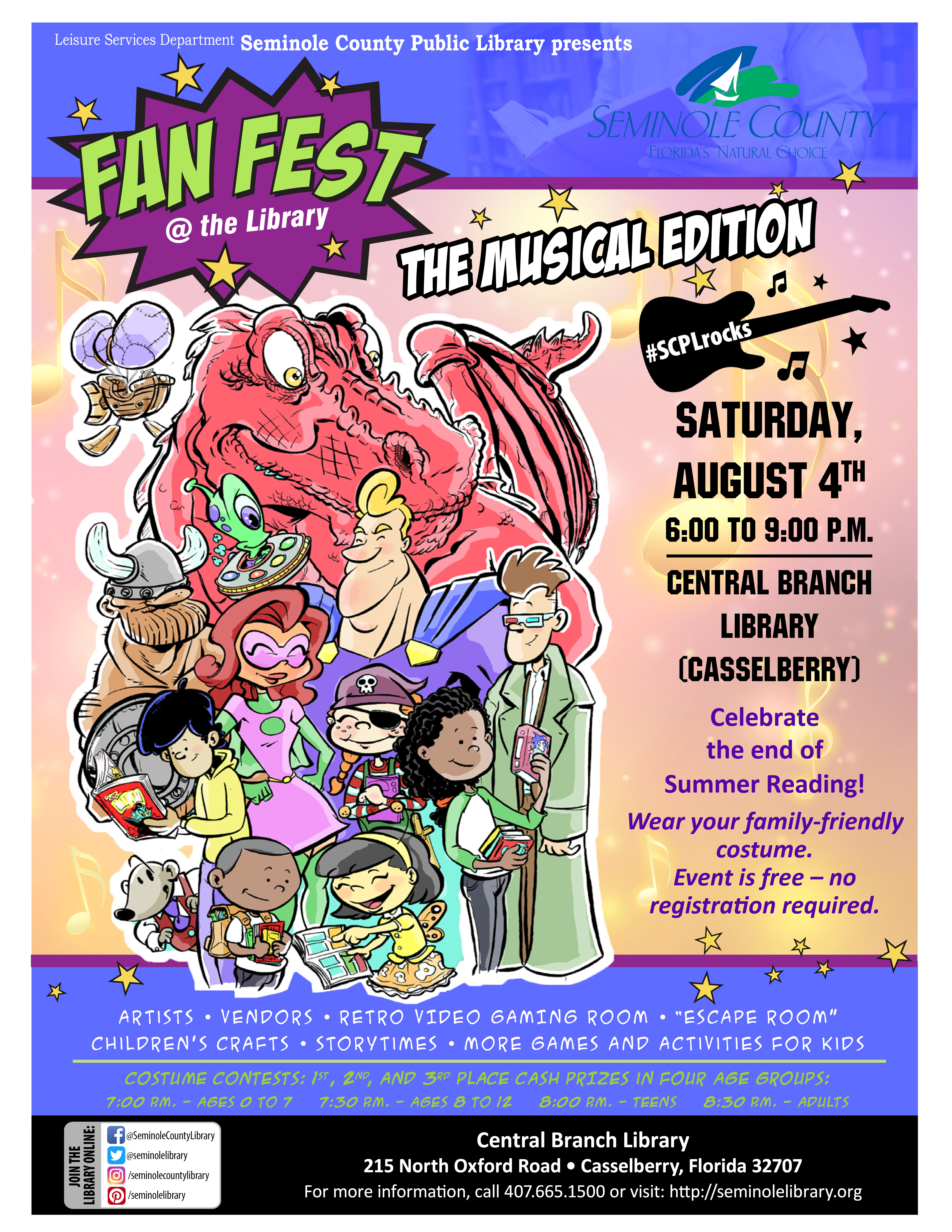 Fan Fest the Musical Edition @ the Library 2018