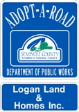 Adopt-A-Road Program Logo Sign
