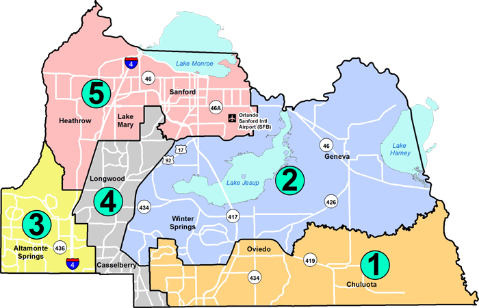 BCC District Map