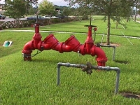 Two different backflow preventers