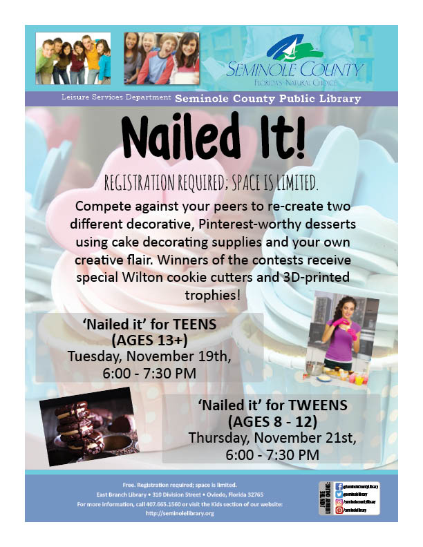 Nailed it for Tweens and Teens