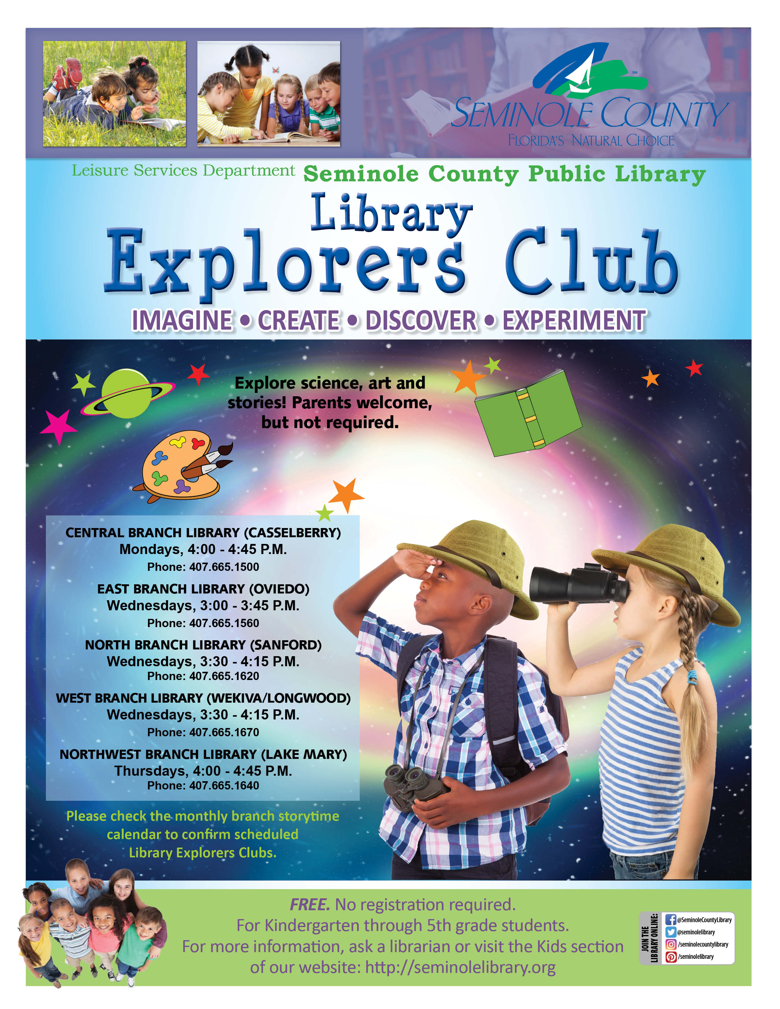 Library Explorers Club