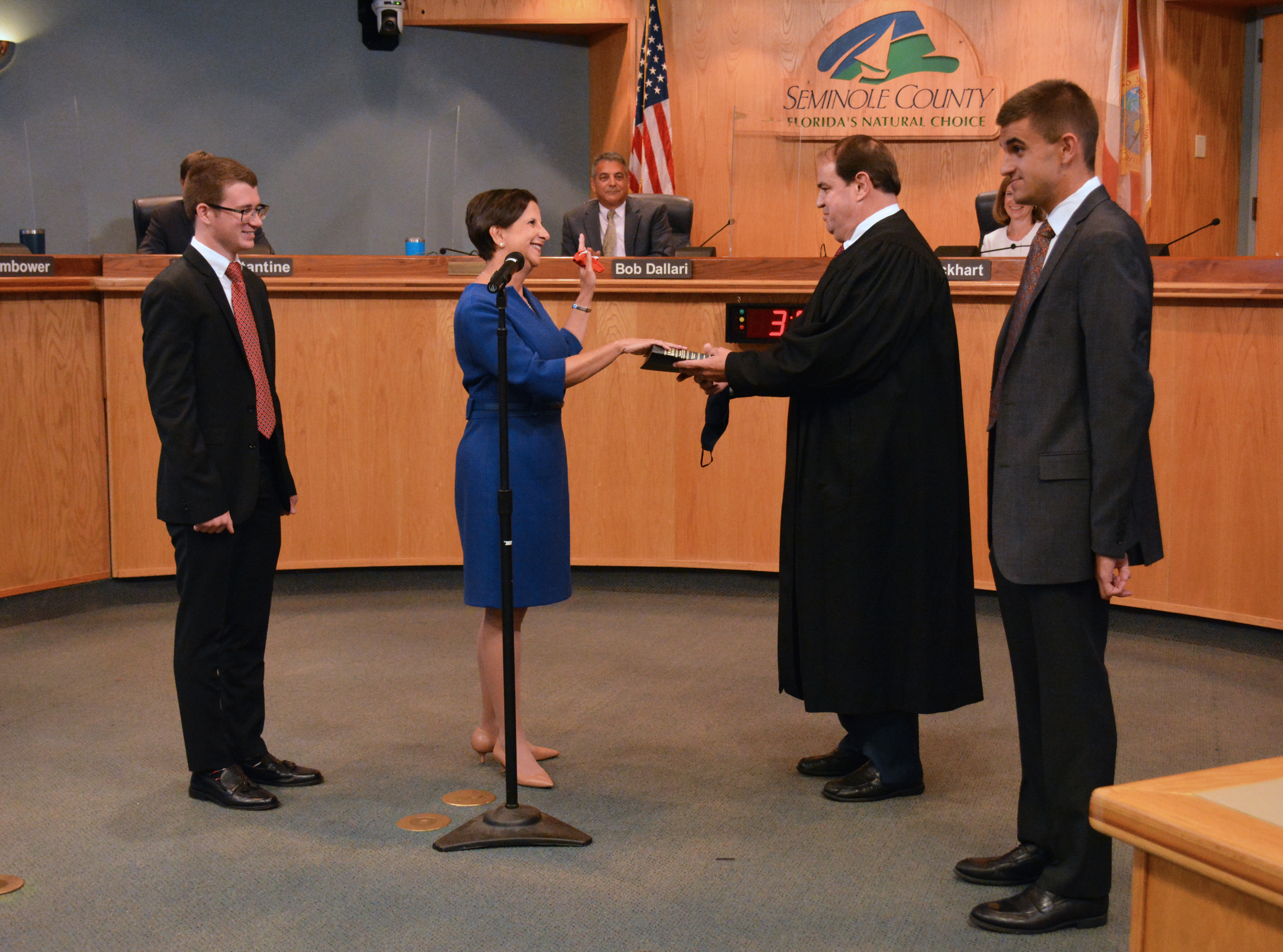 2020 Swearing In Ceremony for Commissioner Andria Herr