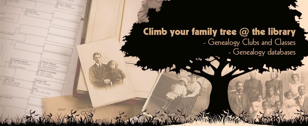 Genealogy @ the library